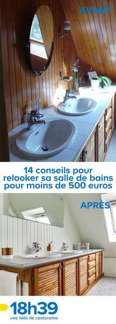 Salle De Bains Repeindre Le Carrelage Customiser La Baignoire Fabriquer Une Vasque Originale Accessoiriser Piochez
