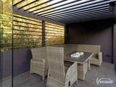 Referentie #lamellendak V860-Levanto #louveredroof #veranda #reference