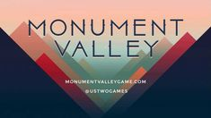 Teaser Trailer - Monument Valley by ustwo™. Loving the Artdeco and minimal design! I hope it'll be out on androids soon..