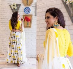 Fresh #newlehenga collections launched, Find a gorgeous Want something alike and similar to nature, just grab a #stylish #yellowLehenga and flaunt your looks.