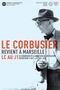Poster de la exposición. Le Corbusier, Ronchamp 1954. ©Andre´ Maisonnier-FLC-ADAGP. Paris 2013.