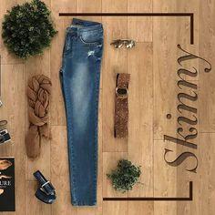 O jeans skinny é perfeito para o uso casual 5b752e6c416
