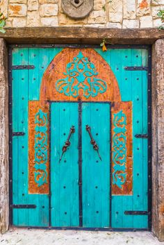 Colorful Door at Elmona Garden Julis by Jacky COSTI©- Photography on 500px