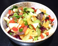 Obst Gemuse Salat