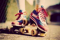 vintage skates | Tumblr