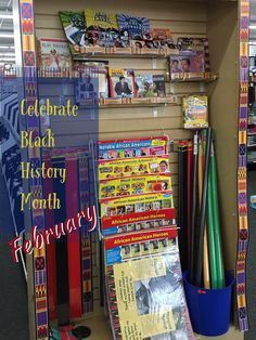 February is Black History Month. We have bulletin board kits, trimmers, and books to prepare your classroom. Come in or shop online.