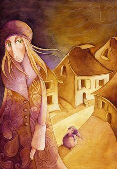 Illustrations by Gosia Mosz, via Behance