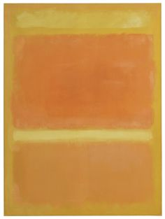Mark Rothko, UNTITLED (YELLOW, ORANGE, YELLOW, LIGHT ORANGE)