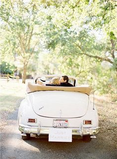 volkswagon... Had this car in navy exterior and white convertible top... Fun to drive!