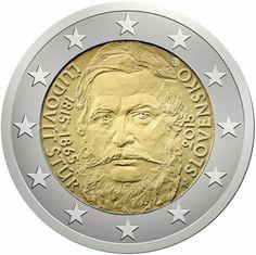 """Moneta Commemorativa """"200° anniv. nascita Ľudovít Štúr"""" Anno: 2015 Stato: Slovacchia"""