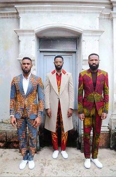 Kamsi TCharles - Czar and the Rabbi - Spring-Summer 2016 - BN Style - BellaNaija. African Inspired Fashion, African Print Fashion, Africa Fashion, Fashion Prints, New Fashion, Ankara Fashion, Fashion Hacks, Trendy Fashion, Spring Fashion