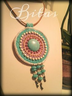 ethnic accessories BOHO CHIC gipsy MANDALA by BitasAccessories