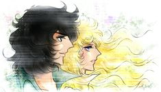 Oscar and André - Versailles no Bara - The Rose of Versailles Fan Art - Fanpop