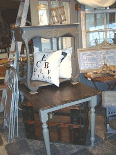 Love The Top Table As A Nightstand! At Second Hand Rose, Buffalo,