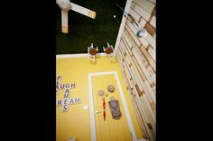 """Sophie and Dale's upside-down kids' room on """"The Block"""".  { http://www.inspiralia.net.au }"""