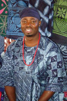 Gasali Adeyemo, Yoruba Batik, Adire, and Tie Dye instructor at the John C. Campbell Folk School | folkschool.org