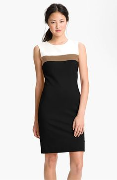 Trina Turk Derain Colorblock Sheath Dress available at Nordstrom
