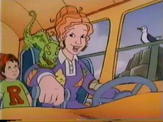 """You wished your teacher was more like Ms. Frizzle. 