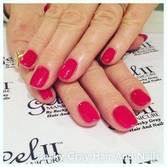 Gel II manicure hard rock