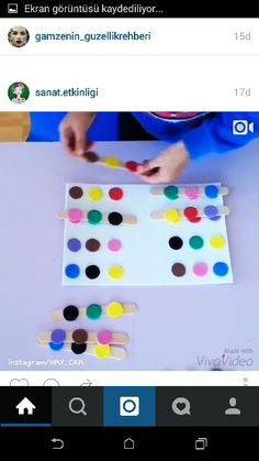 Akil oyunu Learning Time, Montessori Activities, Sensory Play, Color Themes, Fine Motor, Kindergarten, Coding, Classroom, Paper Collages