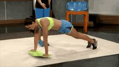 Simply Fit Board Plank Crossovers