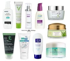 The best moisturizer and face cream for oily skin in India. Includes affordable and effective face gels that do not make the skin oily. Cream For Oily Skin, Moisturizer For Oily Skin, Oily Skin Care, Skin Cream, Facial Cleanser, Skin Care Regimen, Skin Care Tips, Skin Tips, Dry Skin