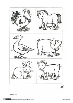 Farm Animals Coloring Pages Pdf Printable Preschool Worksheets, Kindergarten Worksheets, Farm Animal Coloring Pages, Coloring Pages For Kids, Farm Animals Preschool, Illustrator, Social Studies Worksheets, Drawing For Kids, Fun To Be One