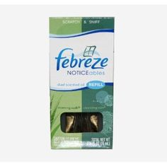 Febreze Noticeables, Dual Scented Oils Refill, Morning Walk and Cleansing Rain (Health and Beauty)  http://macaronflavors.com/amazonimage.php?p=B001B2XR1A  B001B2XR1A
