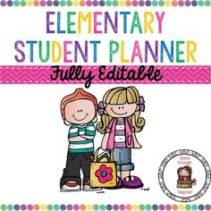 I love products like this that help students stay organized!  And instead of me throwing a generic district-provided homework agenda at kids on the first day of school, kids will be able to take more ownership of a planner like this one and stay more organized throughout the year.