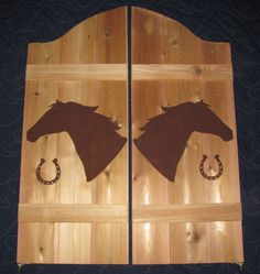 Saloon Doors would love to have these in my kitchen bull head cut in half instead & Western Style Saloon doors. Using this as a pattern to make my own ... Pezcame.Com