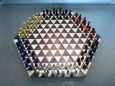6 Player Chess Set