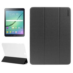 Nice Samsung Galaxy Tab 2017:  ENKAY Toothpick Texture PU Leather + Translucent Frosted Plastic Case with 3-folding Holder for Samsung Galaxy Tab S2 9.7 / T815(Black)  Stuff to Buy Check more at http://mytechnoshop.info/2017/?product=samsung-galaxy-tab-2017-4-44-enkay-toothpick-texture-pu-leather-translucent-frosted-plastic-case-with-3-folding-holder-for-samsung-galaxy-tab-s2-9-7-t815black-stuff-to-buy