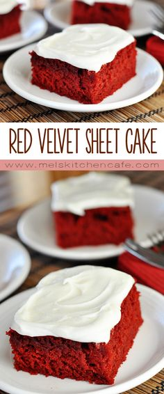 If you want something a bit simpler to throw together for a stunning and delightful Valentine's Day treat, this Red Velvet Cake made in a 9X13-inch pan and smothered in light, creamy frosting is the perfect answer.