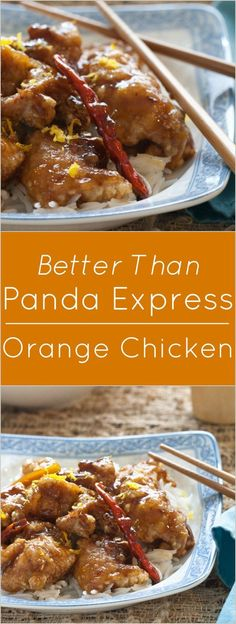 better than panda express orange flavored chicken