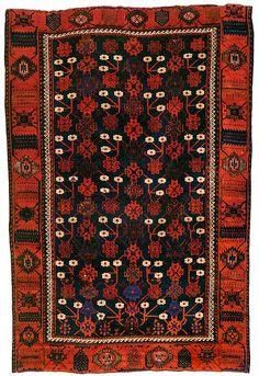 Baluch Rugs Tribal Rugs Oriental Rugs Mina Khani Baluch Rug First Half 19th C. The Wher Collection