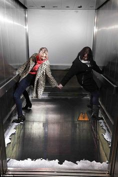 The Elevator!