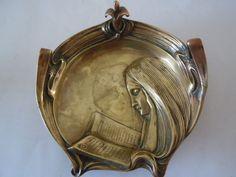 Online veilinghuis Catawiki: Art Nouveau  koperen vide poche/schaaltje - ca. 1920
