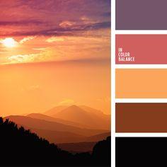 amarillo dorado, amarillo y anaranjado, anaranjado pálido, anaranjado y violeta, beige, beige claro, beige y anaranjado, color burdeos, color cuero rojizo, color miel, color ocre, colores de otoño, colores para la primavera, combinación de colores para otoño, marrón, marrón rojizo, marrón y violeta, violeta y anaranjado.