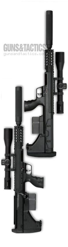 The Desert Tactical Arms SRS-A1 Covert Rifle Chassis. Guns & Tactics Magazine.