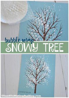Bubble Wrap Snowy Tr