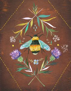 Bee by Katie Daisy