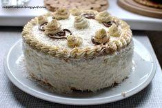 Tort malibu z nutellą