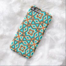 Trendy Native American Indian Tribe Mosaic Pattern iPhone 6 Case