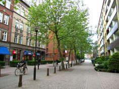 Woonerf, Kaptensgatan, Holanda. fonte:http://historicpca.blogspot.com.br/2015/08/new-thinking-is-needed-in-urban-planning.html