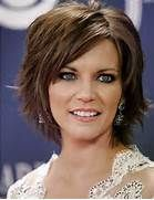 Short Layered Ombre Hairstyle 2016 Short Layered Medium Haircut with ...