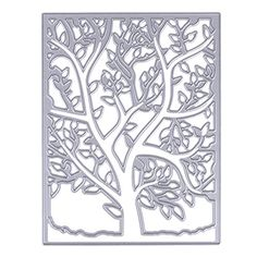 WinnerEco Spring Tree Pattern Frame Ectangle Embossing Cutting Dies Stencil Metal Mould for DIY Scrapbook Album Paper Card >>> Click image for more details.Note:It is affiliate link to Amazon.