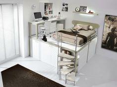 Kataloge zum Download und Preisliste für Tiramolla 907 By tumidei, schlafzimmer mit hochbett für jugendliche, Kollektion tiramolla