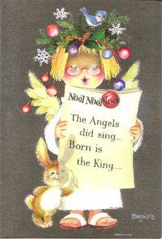 Postales Navideñas de Juan Ferrándiz, tarjetas, saludos navideños