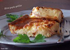 Πατατόπιτα χωρίς φύλλο Cookbook Recipes, Cooking Recipes, Lasagna, Baked Potato, Feta, Mashed Potatoes, French Toast, Blog, Muffin