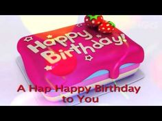 The Happy Birthday Song (Lyric Video) - YouTube